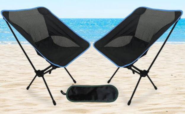 זוג כיסאות קמפינג LIGHTWEIGHT