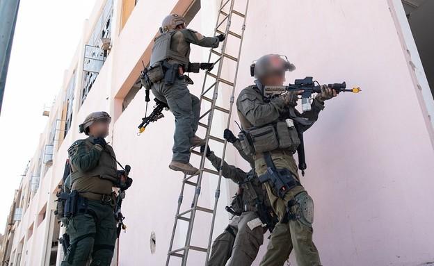 """היחידה בפעולה (צילום: דובר צה""""ל )"""