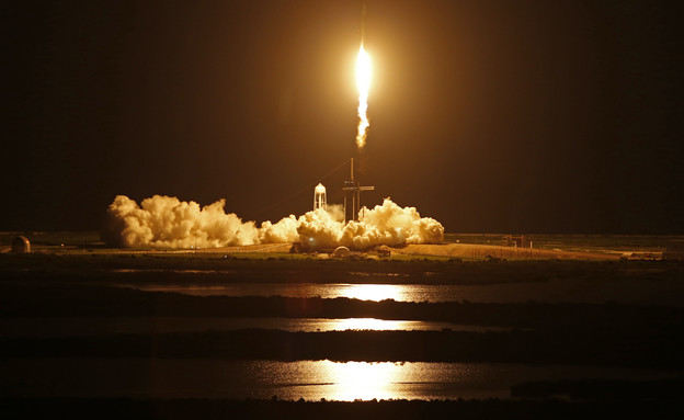 For the first time: SpaceX launched a spacecraft without astronauts