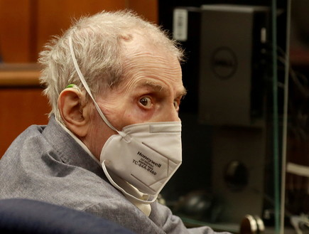 רוברט דורסט במשפט הרצח שלו בבית המשפט באינגלווד (צילום: reuters)