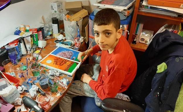 """ברק חורי ז""""ל, בן ה-12 שנהרג בערב יום הכיפורים (צילום: באדיבות המשפחה)"""