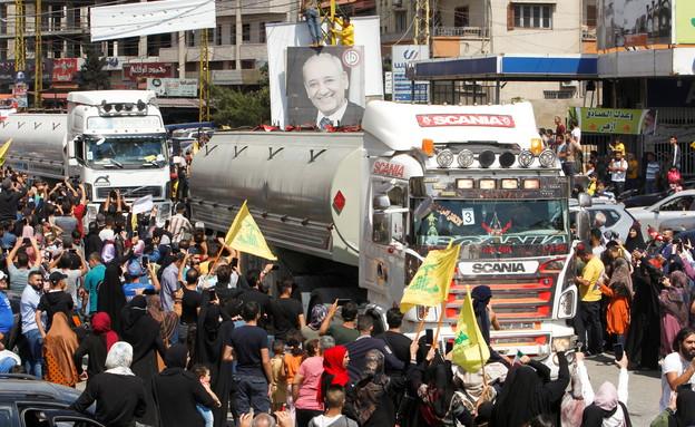 חיזבאללה מספק דלק לתושבי לבנון (צילום: reuters)