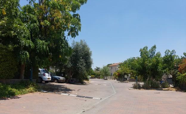 רחוב הגולן, אשדות יעקב איחוד (צילום: איל יצהר, גלובס)