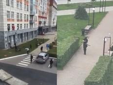 במסע הרג באוניברסיטה ברוסיה (צילום: לפי סעיף 27 א
