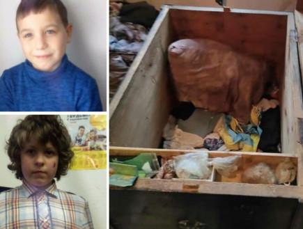 2 ילדים נתקעו בתיבת עץ עתיקה - ונחנקו למוות