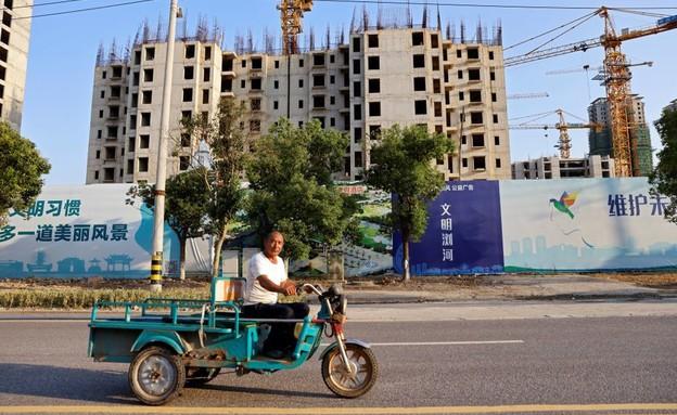פרויקט של אוורגרנד בסין (צילום: reuters)