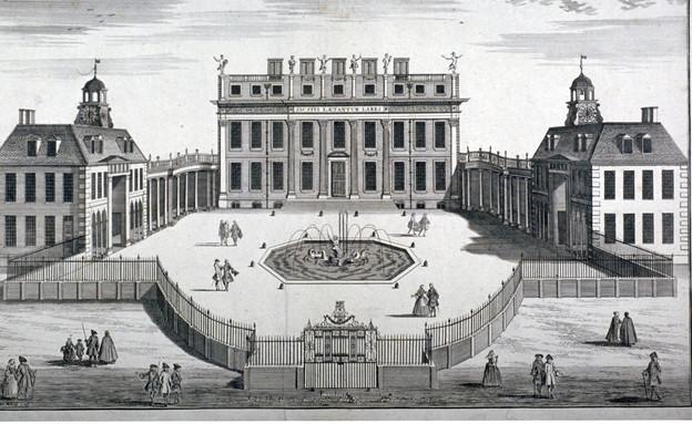 בית בקינגהאם, 1754  (צילום: Guildhall Library & Art Gallery/Heritage Images, GettyImages)