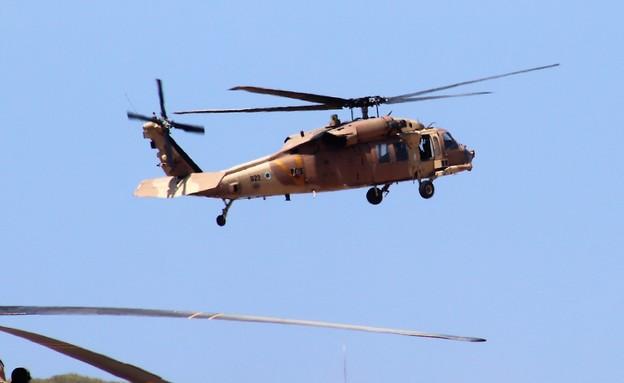 מסוק חיל האוויר (צילום: שי לוי)