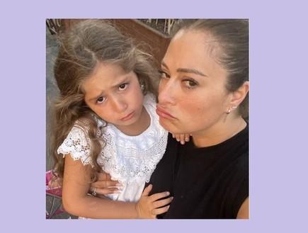 ליהיא גרינר והבת שלה (צילום: lihisunshine, Instagram)