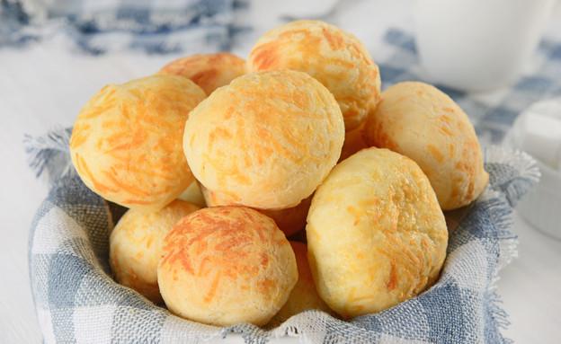 לחמניות גבינה ברזילאיות רכות רכות  (צילום:  Marcelo_Krelling, ShutterStock)