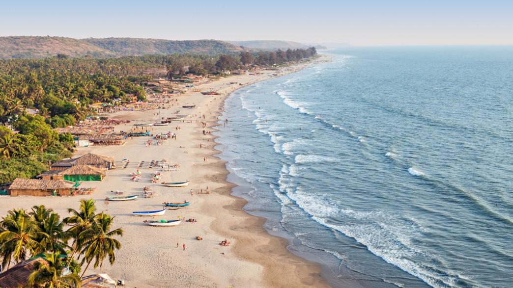 קו החוף של גואה (צילום:  saiko3p, shutterstock)