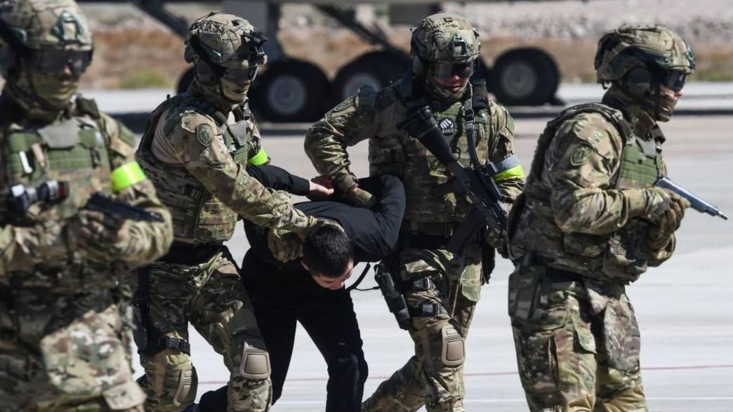 שיתוף הפעולה הצבאי (צילום: VYACHESLAV OSELEDKO/AFP, GettyImages)