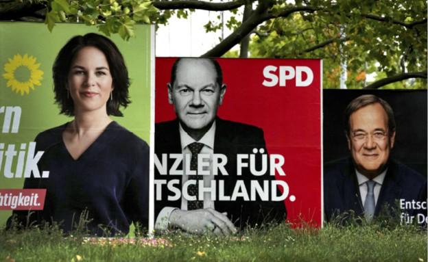 קמפיין בחירות בגרמניה (צילום: AP)