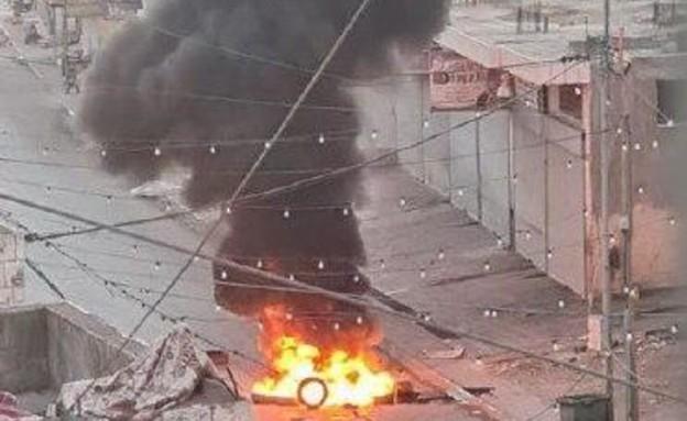 חילופי אש בג'נין