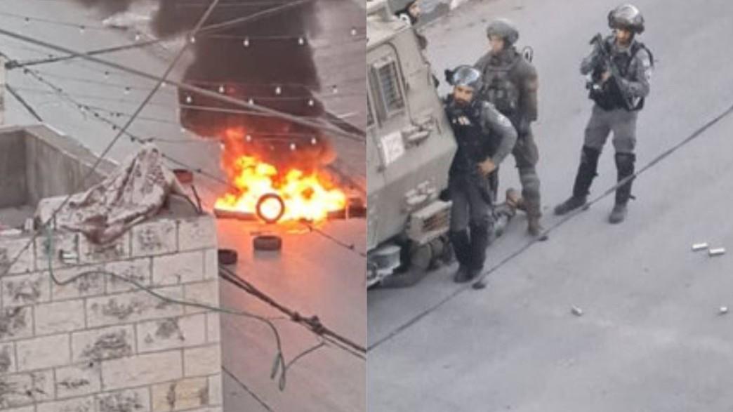 פעולת כוחות הביטחון בגזרת ג'נין (צילום: WAFANewsEnglish, Twitter)