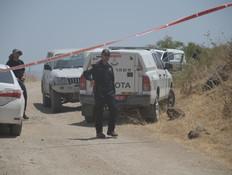 נמצא לאחר סריקות גופת הנעדרת , רשה מוקלשה (צילום: דוברות המשטרה)
