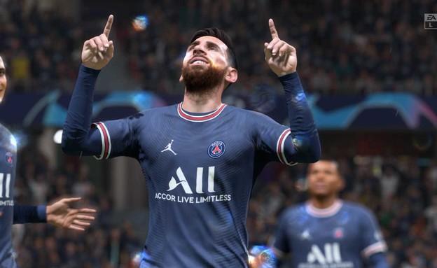 """פיפ""""א 22, מסי (צילום: EA Sports)"""