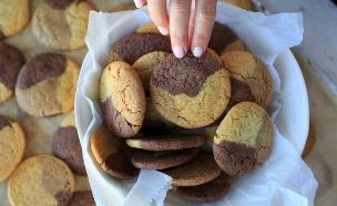 עוגיות בשלושה צבעים (צילום: נופר צור, אוכל טוב)