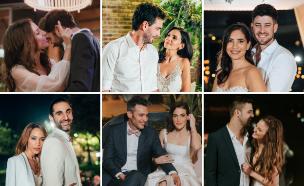 הזוגות של חתונה ממבט ראשון (צילום: פיפל פוטוגרפי, לירון סער, אלון גרובר, עידן חסון, דניס בוטנרו)