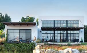 בית בשרון, עיצוב רון שנקין ואורלי מור, צילום הגר דופלט (23) (צילום: הגר דולפט)