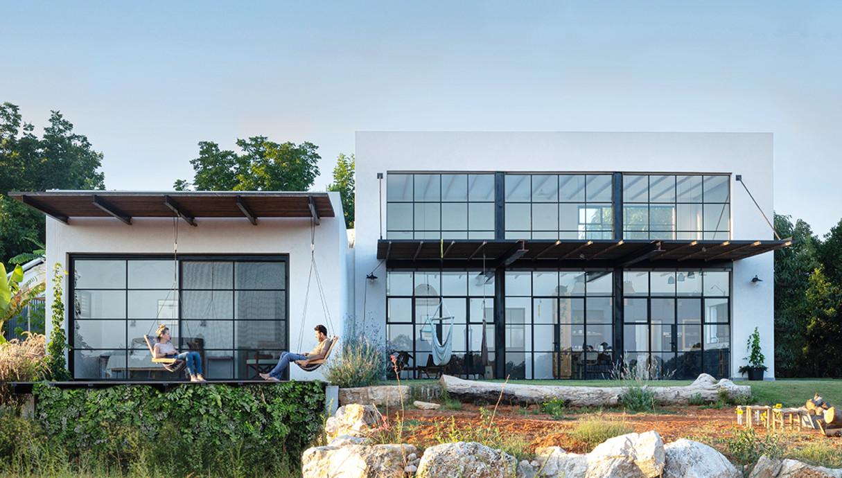 בית בשרון, עיצוב רון שנקין ואורלי מור, צילום הגר דופלט (23)
