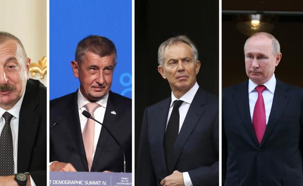 מנהיגים במוקד מסמכי פנדורה (עיבוד: reuters)