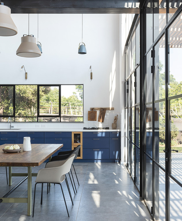 בית בשרון, עיצוב רון שנקין ואורלי מור, צילום הגר דופלט