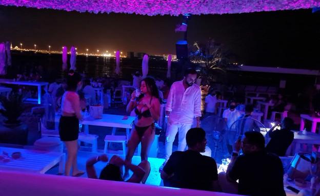 מועדון החוף הפרטי סולימאר (צילום: עידן סימון, N12)