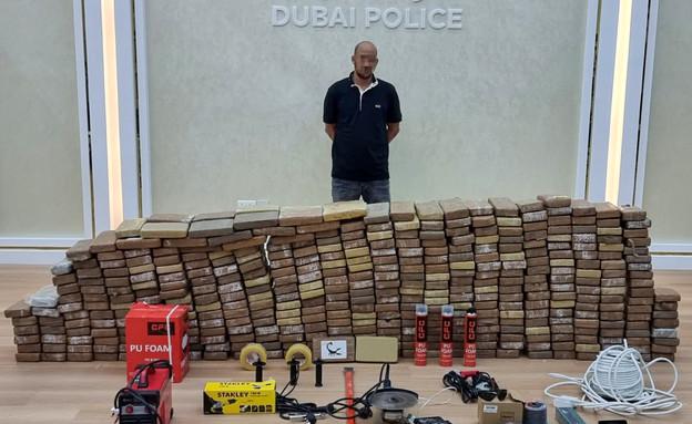 חליל דסוקי (צילום: משטרת דובאי/כלי התקשורת הערביים)
