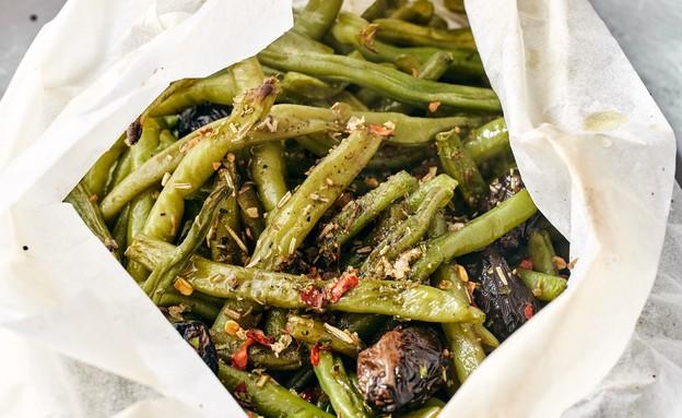 שעועית ירוקה צלויה (צילום: אמיר מנחם, אוכל טוב)