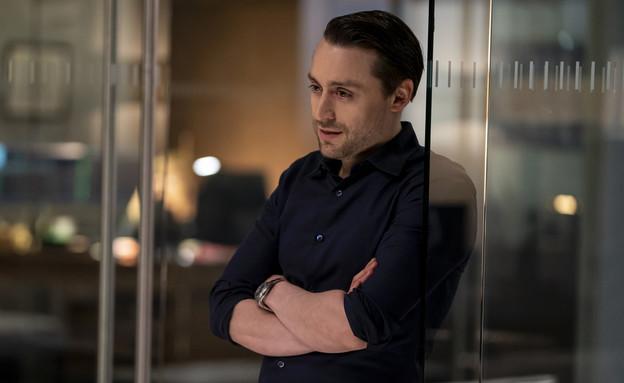 """קיראן קולקין, """"יורשים"""" (צילום: Macall Polay/HBO באדיבות yes ,HOT וסלקום tv, יחסי ציבור)"""