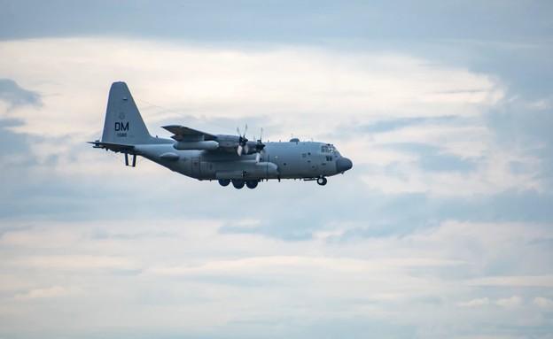 המטוס הייחודי (צילום: Senior Airman Alex Miller, U.S. Air Force)
