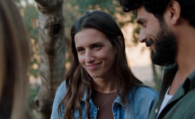 עמוס דהרי ואביגיל (צילום: להיות איתה, קשת 12)