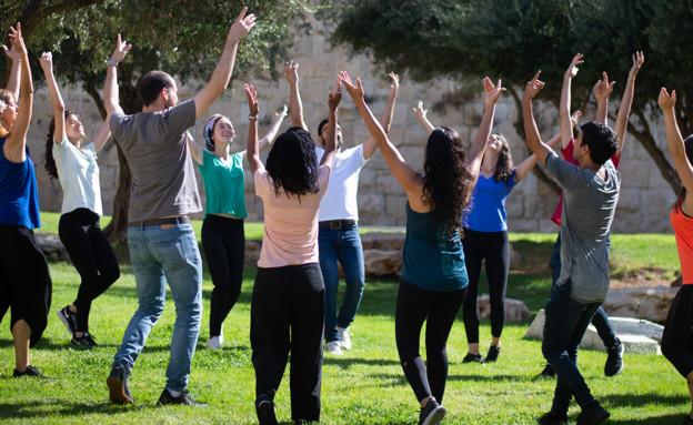 ריקודי עם (צילום: באדיבות הילה מוקדסי, קומונע)