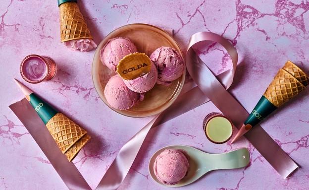 גלידות גולדה למען חודש המודעות (צילום: מיי סושיאל, יחסי ציבור)
