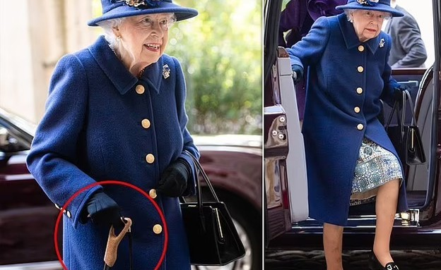 This picture of Queen Elizabeth worries the network