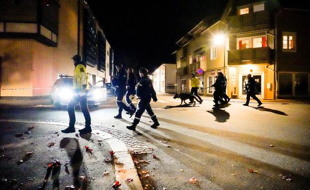 טבח בחץ וקשת בנורווגיה (צילום: reuters)