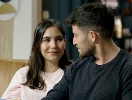 לירון ועינת (צילום: מתוך חתונה ממבט ראשון , קשת 12)