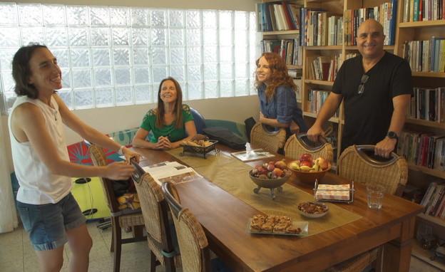 משפחת שפיר (צילום: החדשות 12)