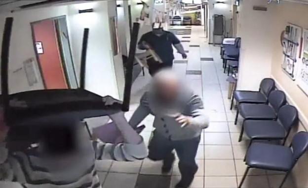 תקיפת צוות רפואי, בקופת חולים מאוחדת בביתר עלית