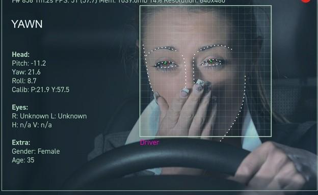 """המערכת של ג'אנגו לניטור התנועות של הנהג (צילום: ג'אנגו, יח""""צ)"""