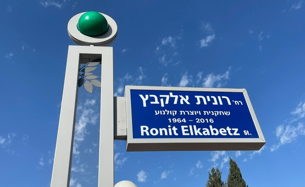 רחוב רונית אלקבץ (צילום: באדיבות עיריית שדרות)