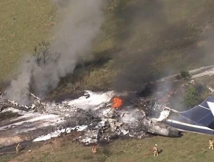 נס: כל הנוסעים שרדו את התרסקות המטוס הזו