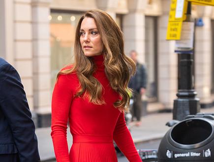 קייט באדום וחום (צילום: getty images)