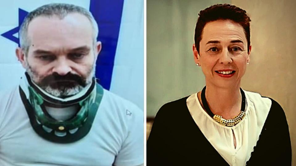 """רחל אייזנשטדט, שעל פי החשד נרצחה ע""""י בעלה גיא שפיר (עיבוד: חדשות 12)"""