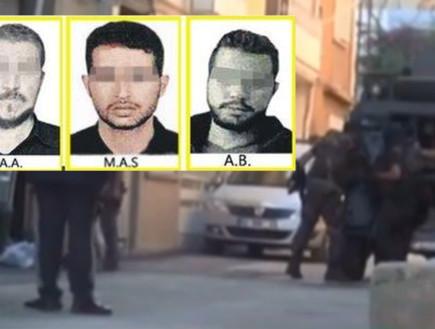 מעצר פעילי המוסד בטורקיה