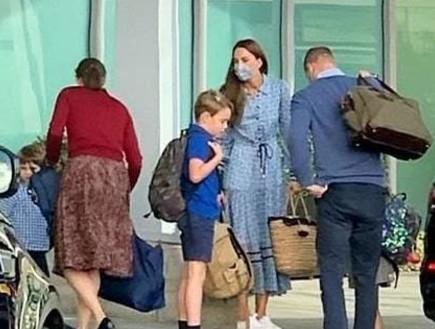 פפראצי מלכותי: וויליאם, קייט והילדים נתפסו