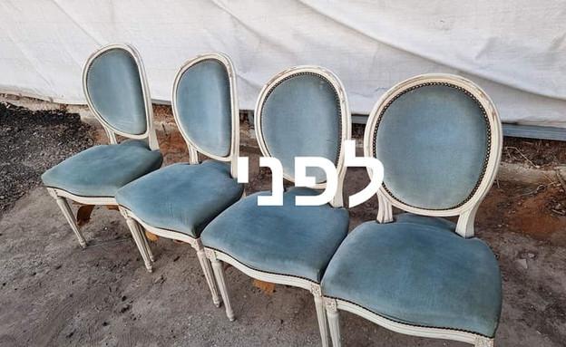מייקאובר כיסאות, יפעת אלקלעי - 3 (צילום: יפעת אלקלעי)