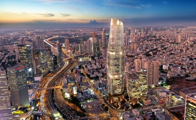 מגדל TOHA2 (הדמיה: ויו פוינט)