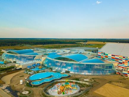 פארק המים המקורה הגדול באירופה נפתח בפולין